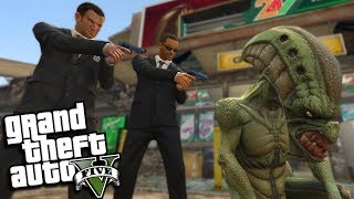 The MEN IN BLACK MOD w/ Will Smith (GTA 5 PC Mods Gameplay)