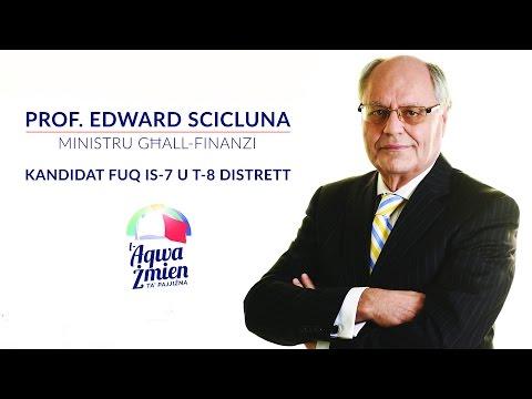 L-Aqwa Żmien ta' Pajjiżna - Edward Scicluna MP