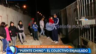 Un puente insólito en González Catán: el testimonio de los vecinos  - Telefe Noticias