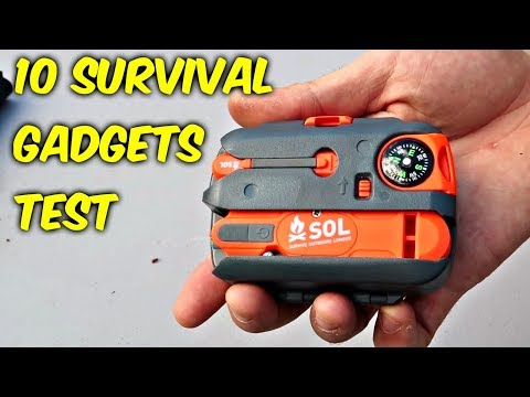Thumbnail: 10 Survival Gadgets put to the Test - part 2
