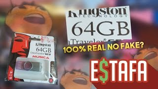 ¿MEMORIA DE 64 GB A 20 PESOS 100% REAL NO FAKE?- Que NO te ESTAFEN (CD Mexico)