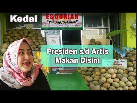 Kuliner Bandung Es Durian Pak Aip bikin ketagihan