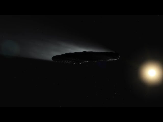Is 'Oumuamua a Comet?