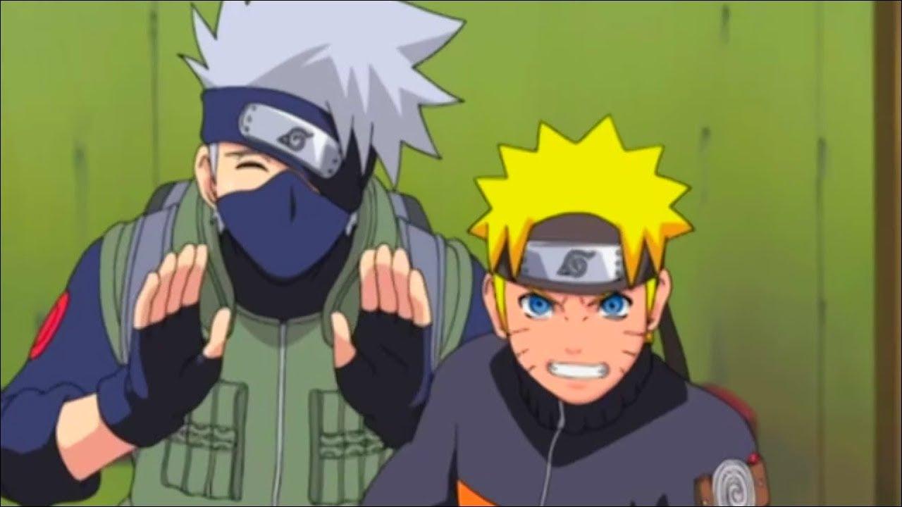 Chiyo confunde a Kakashi con el Colmillo Blanco y lo Ataca