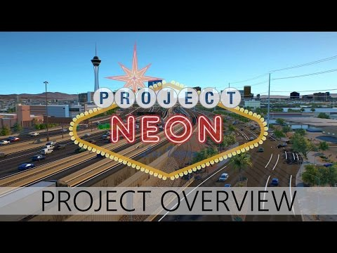 Project Neon Overview Animation | UPDATED | 4K