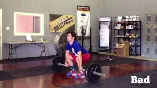 Proper Olympic Clean - All Things, First Pull