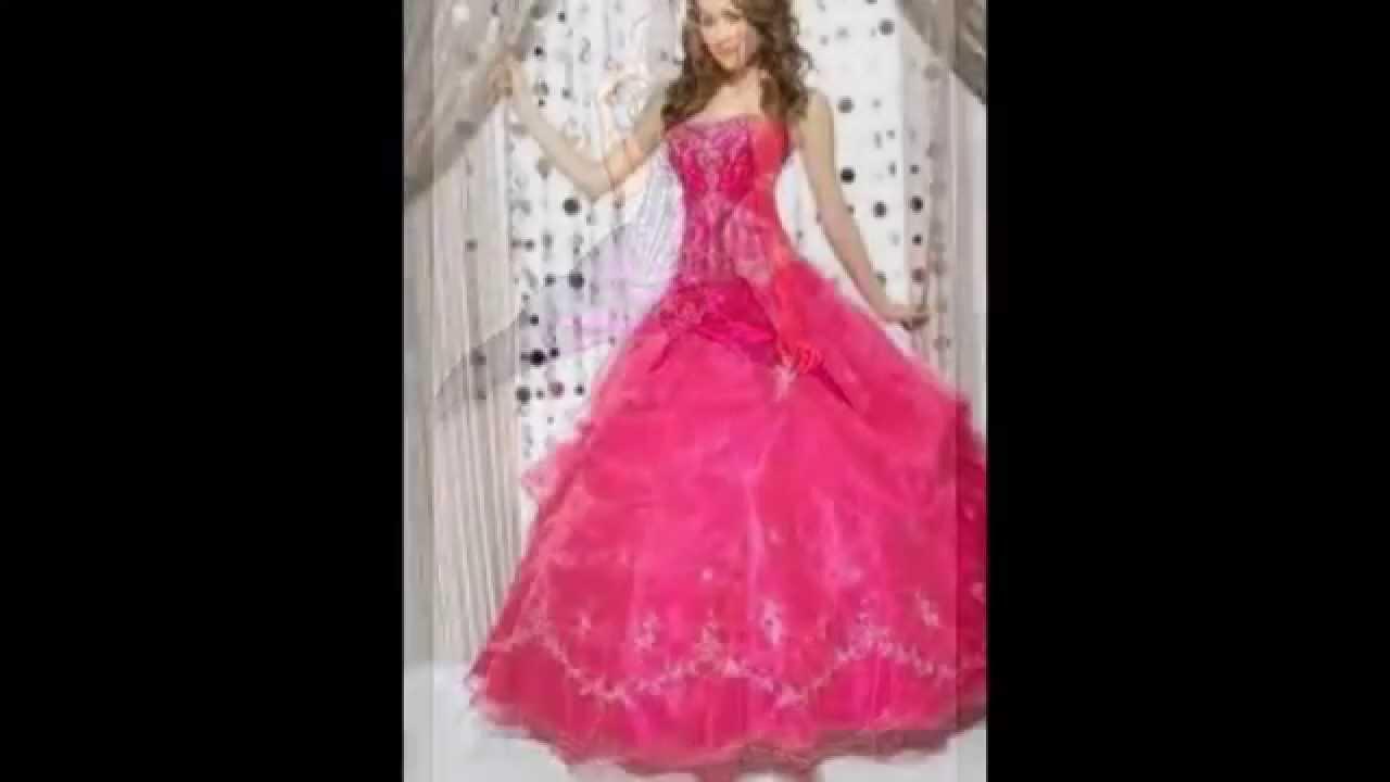 Los vestidos mas hermosos para tus XV - YouTube