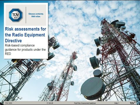 Webinar: Risk Assessments for the Radio Equipment Directive