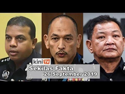 Ada rancangan serang ahli politik Malaysia, Polis buru 3 suspek, Komen IGP video seks