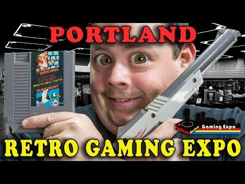 Barnacules Does Portland Retro Gaming Expo 2014 - #BarnaVlog