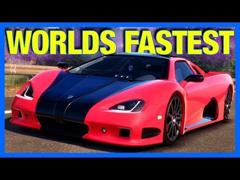The World's Fastest Car : Forza Horizon 1 Let's Play (Part 8)