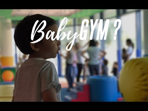 BABY GOES TO THE GYM !!!