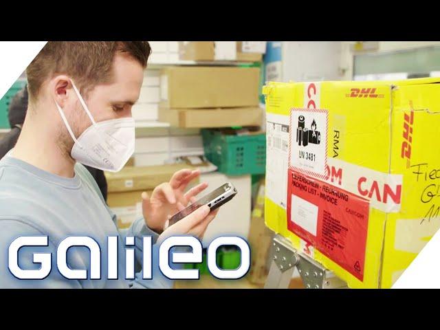 Schuften im Paketshop: So wird die Paketflut gemanagt! | Galileo | ProSieben