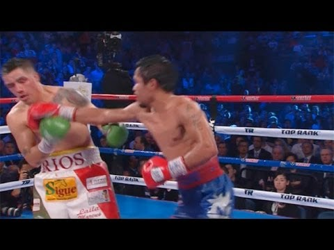 Manny Pacquiao's win over Brandon Rios: fight highlights - Pacquiao v Rios