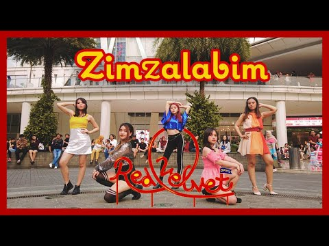 [KPOP IN PUBLIC CHALLENGE] REDVELVET 레드벨벳 짐살라빔 (Zimzalabim) DANCE COVER BY INVASION GIRLS INDONESIA