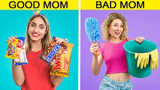 Bad Mom vs Good Mom / 13 Funny Situations