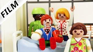Playmobil Film Deutsch - JULIAN DER PECHVOGEL BRICHT SICH BEIDE ARME! Kinderserie Familie Vogel