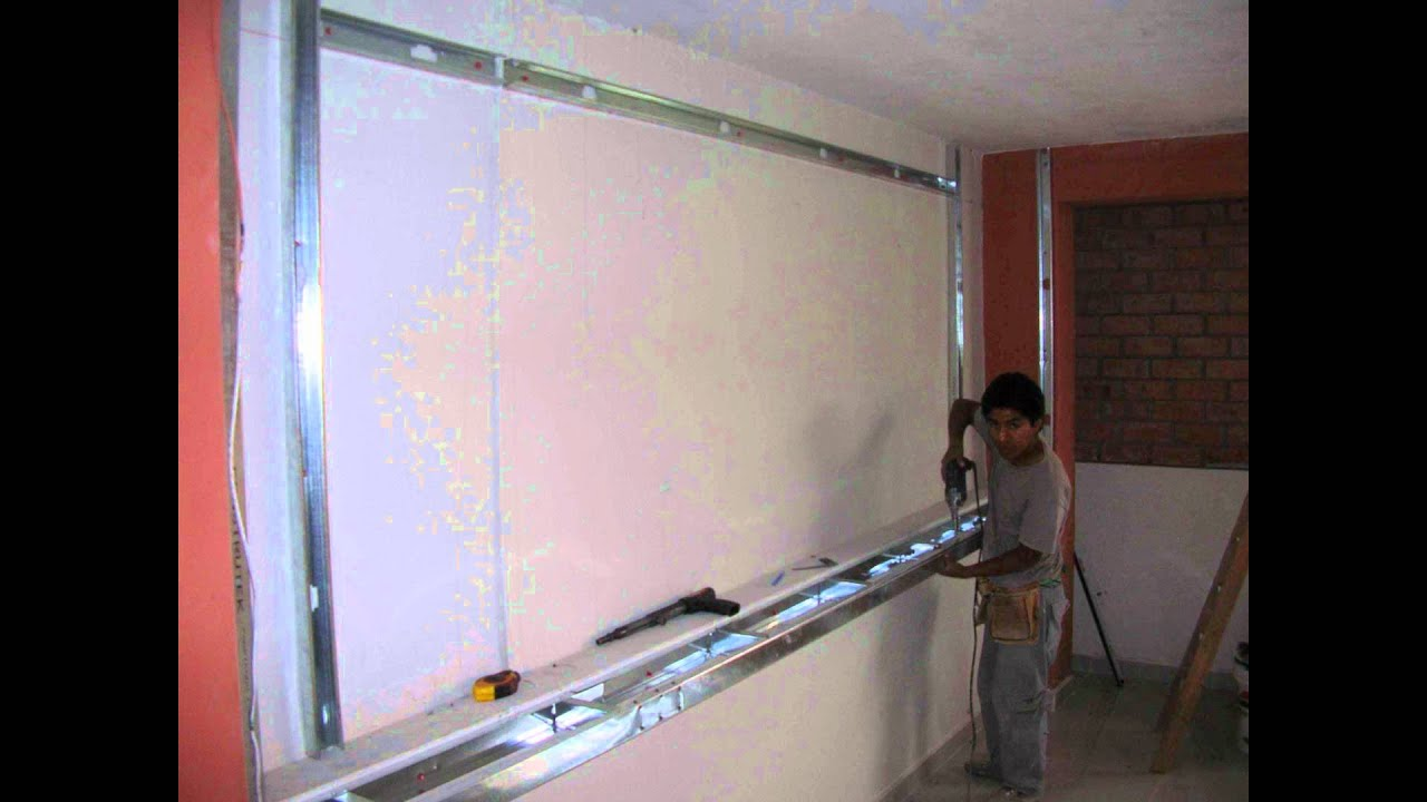 Deconstruccion Cocina Construccion En Drywall - Kitchenett - Youtube