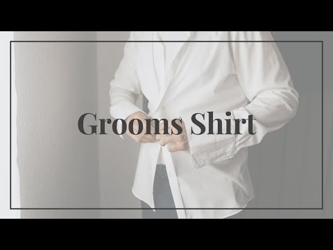 Grooms Shirt on the Wedding Day