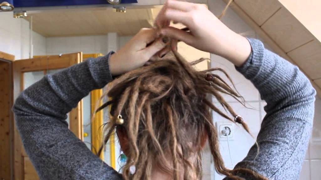 Dreads Schicke Frisur Knotenhaufen Youtube