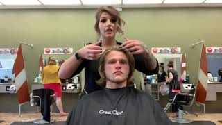 Product Highlights: Men's Solutions by Great Clips Leave-In Conditioner
