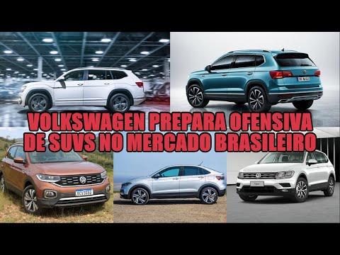 Volkswagen prepara ofensiva de SUVs no mercado brasileiro