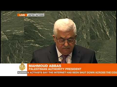 Full Speech: Mahmoud Abbas addresses the UN