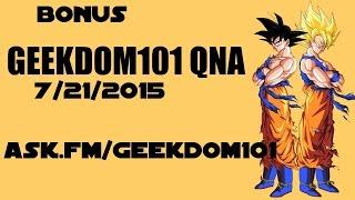 How did Goku get the Heart Virus?; Future Trunks' destiny; Crane Hermit + MORE - BONUS QNA! 7/20/15
