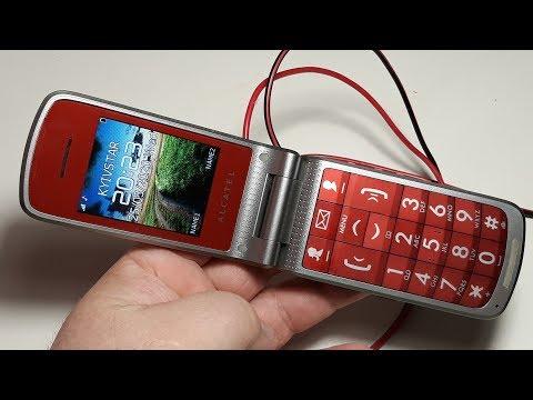 Alcatel One Touch 536 ретро телефон из Германии и подарками фортуны от Рихардса
