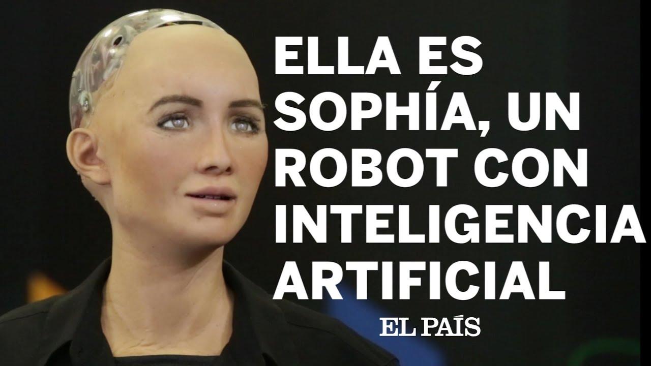 Resultado de imagen para singularidad robotica SOPHIA