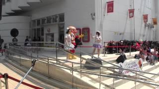 先日行ったアンパンマンミュージアムにドリーミングが来てました。