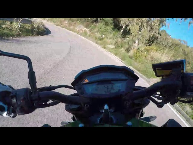 Kawasaki Z1000r 2020 test ride.