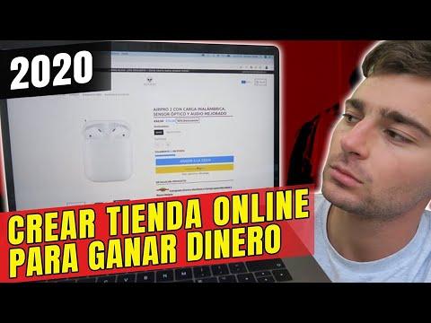 Cómo CREAR TIENDA ONLINE GRATIS Para VENDER Y Ganar DINERO 2020