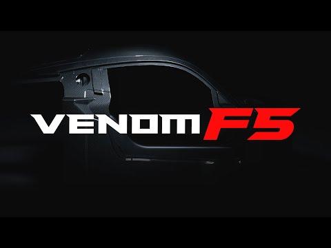 All-New Venom F5 Carbon Fiber Chassis