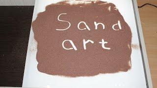 Стол для рисования песком своими руками.