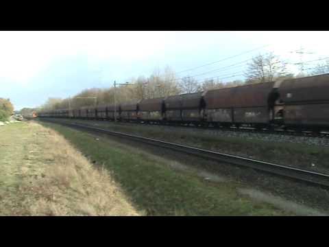 DBS detoured short Coal Train at Blerick,the NL ,April 1,2010