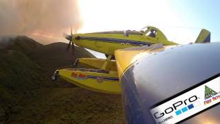 Push the button. Aerial Fire Fighting 2.0
