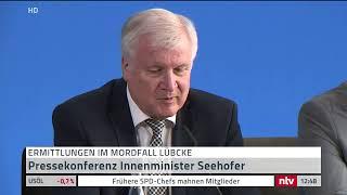 Live: Rechter Terror? Pressekonferenz zum Fall Lübcke.