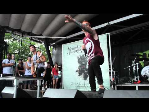 Memphis May Fire - Warped Tour 2012 - Cleveland, Ohio