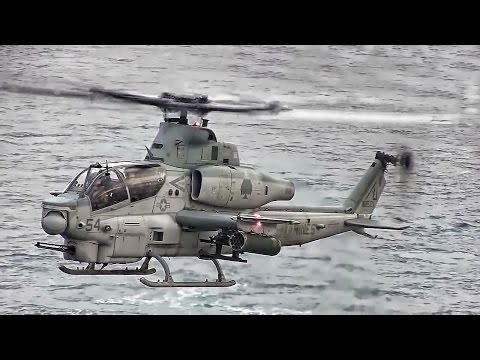 USMC Helicopters • Shipboard Deck Landing Qualifications