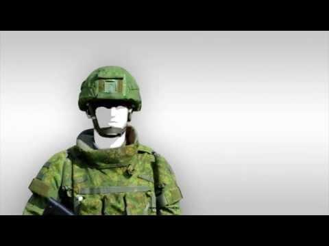 """The """"Ratnik"""" body armor"""