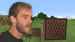 They added PewDiePie to Minecraft!