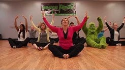 The Grinch Tries Yoga
