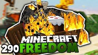 2 MIO ABONNENTEN PARTY GERÄT AUßER KONTROLLE! & DROHNEN BATTLE 2.0 ✪ Minecraft FREEDOM #290 DEUTSCH
