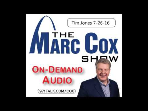 Tim Jones on The Marc Cox Show: This Is A Statewide Poll