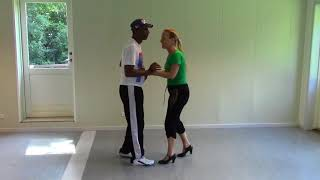 Salsa Cubana with Stine Ortvad and Felix - 2 part with music