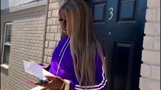 Kandie gets eviction notice during Quarantine‼️😱😭😂 #skit