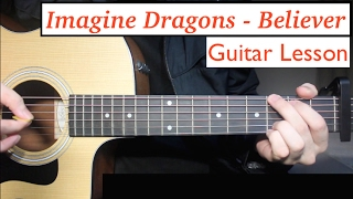 Baixar Imagine Dragons - Believer | Guitar Lesson (Tutorial) How to play Chords