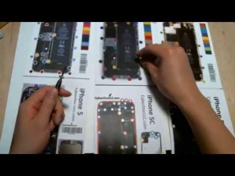 Iphone 6 plus screw size diagram