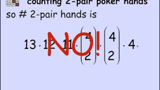 3.4.3 Two Pair Poker Hands: Video